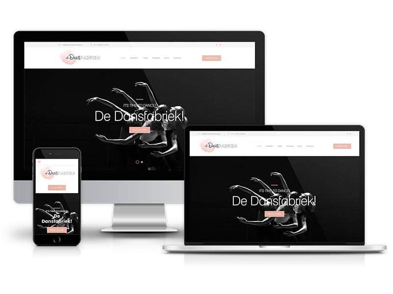 Webdesign | Website ontwerp | De Dansfabriek Hardenberg