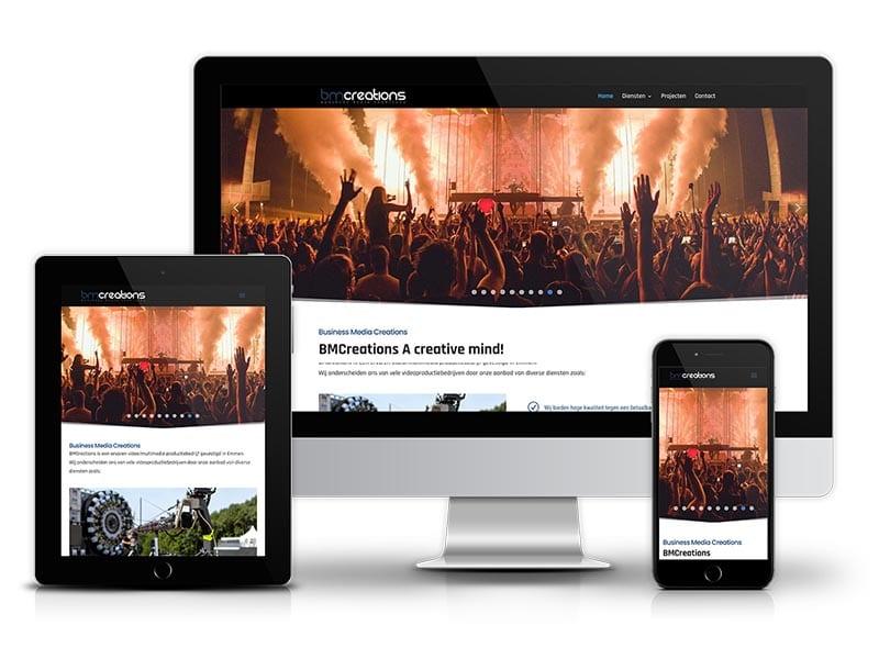Webdesign | Website ontwerp | Business media creations