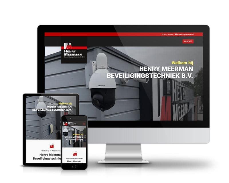 Henry Meerman Webdesign | Website ontwerp