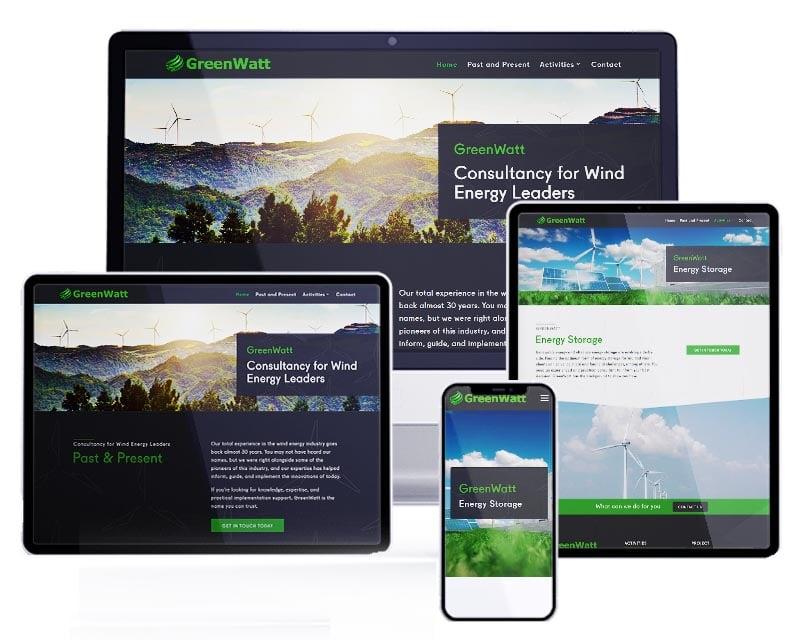 GreenWatt BV | Webdesign | Website ontwerp